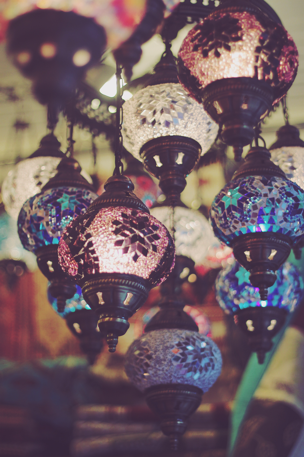 istanbul_beautiful turkish lamps