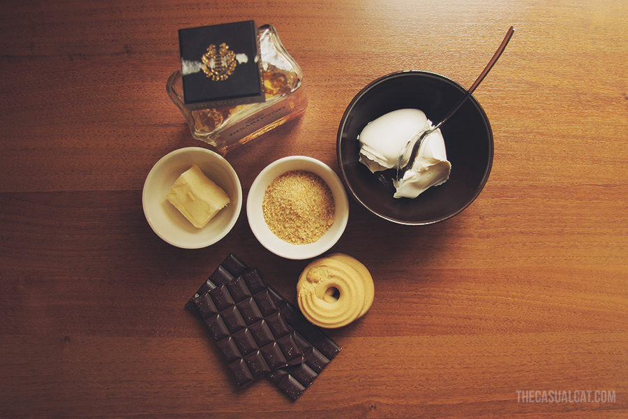 chocolate dessert for two the casual cat