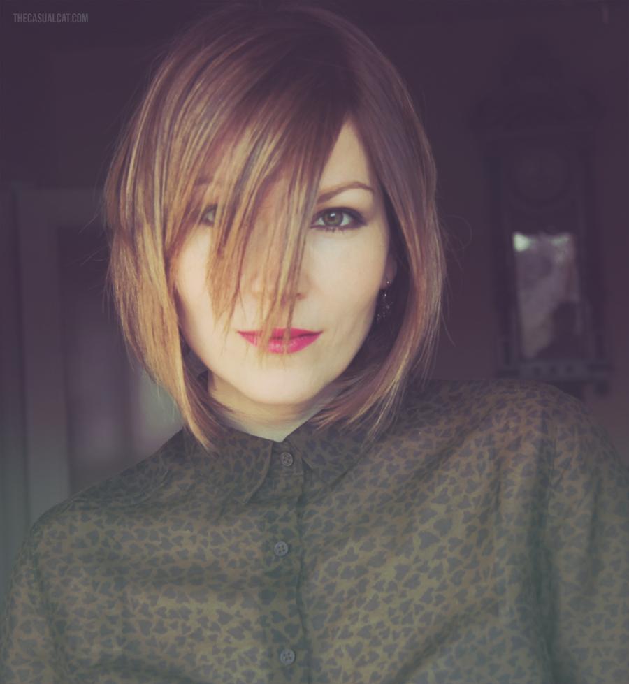 Dark Hair, Blonde Highlights
