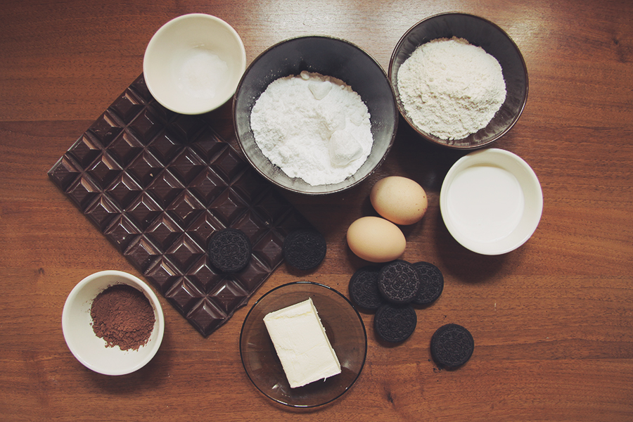 dark chocolate oreo desserts ingredients