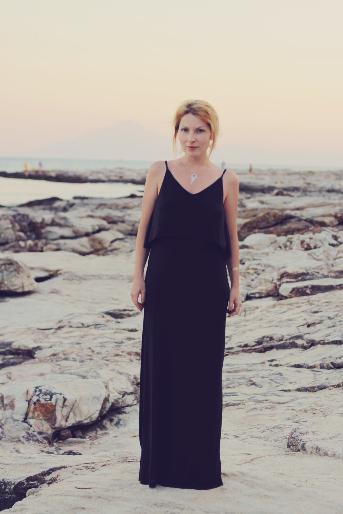 long black beach dress2