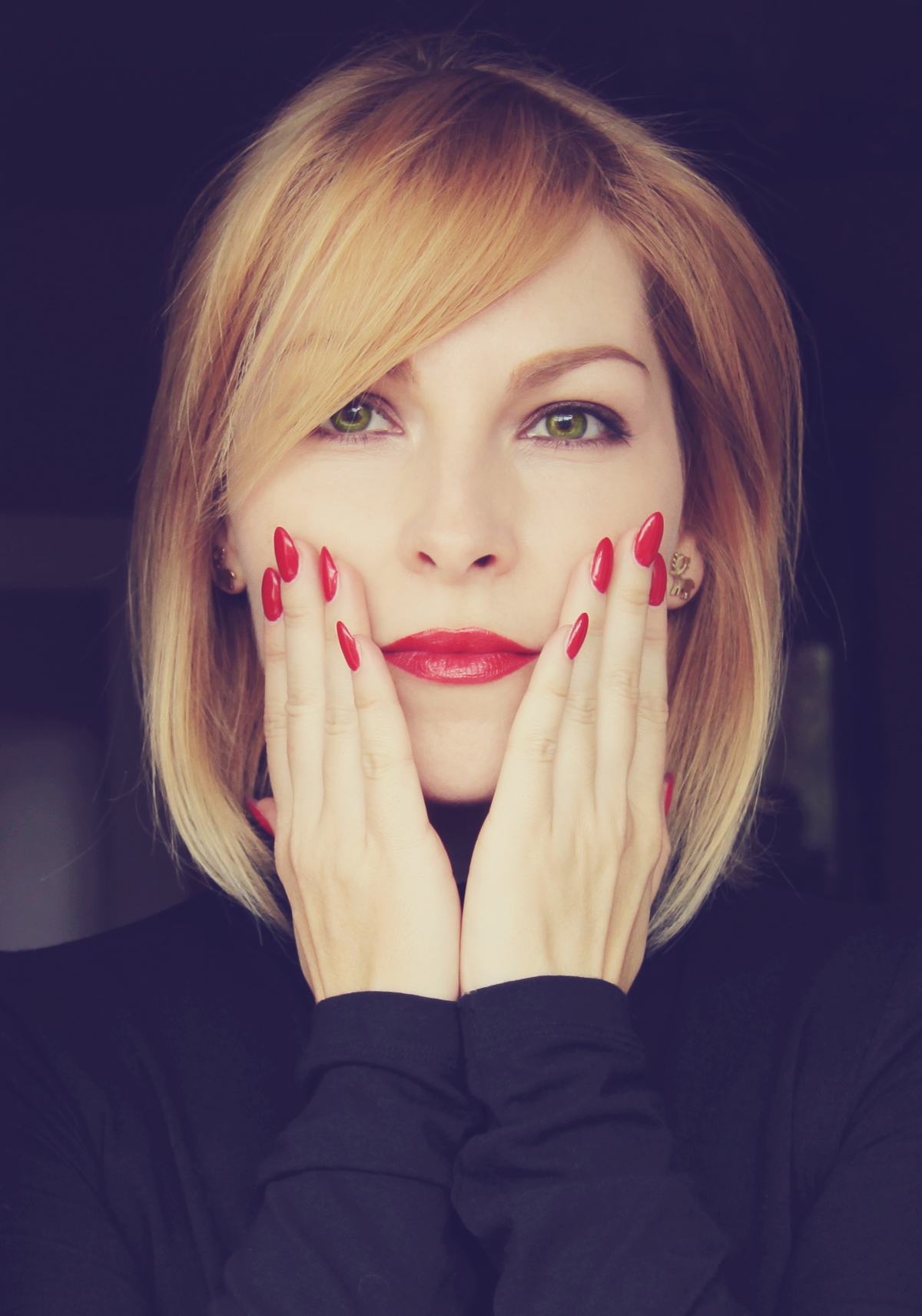 H M Turtleneck The Red Nails – The ...
