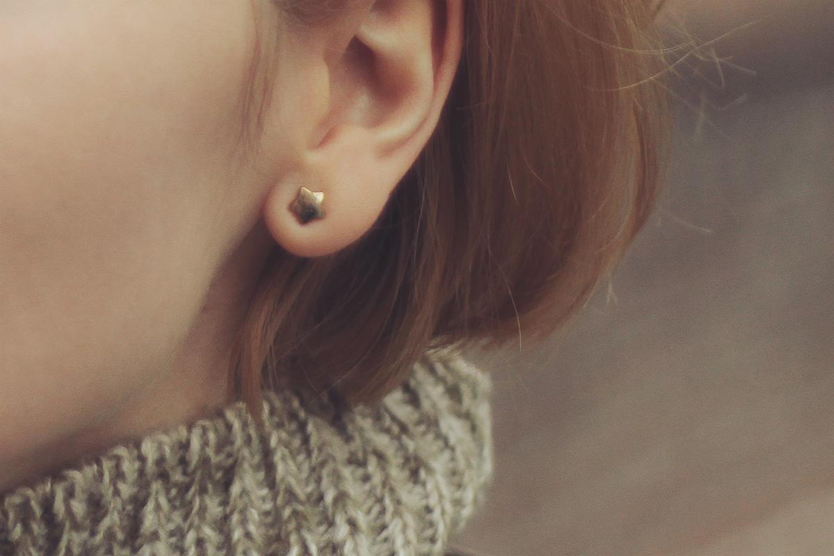 cute star earring