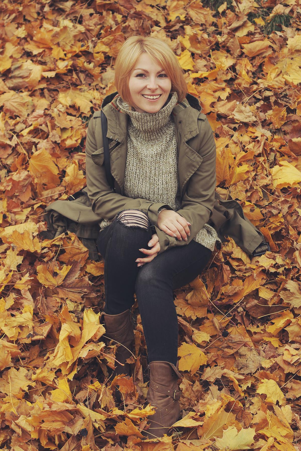 fall cozy jumper