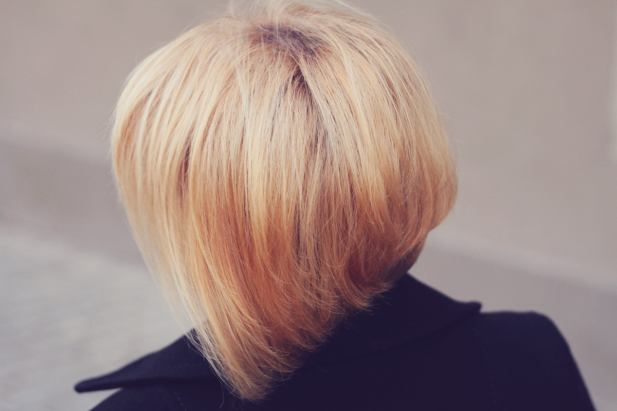 the blonde bob haircut