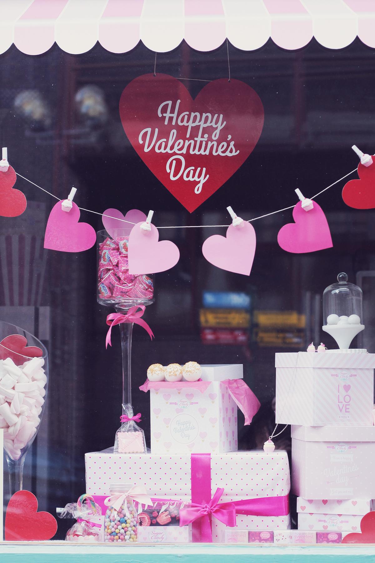 valentines day decorations - szeged hungary