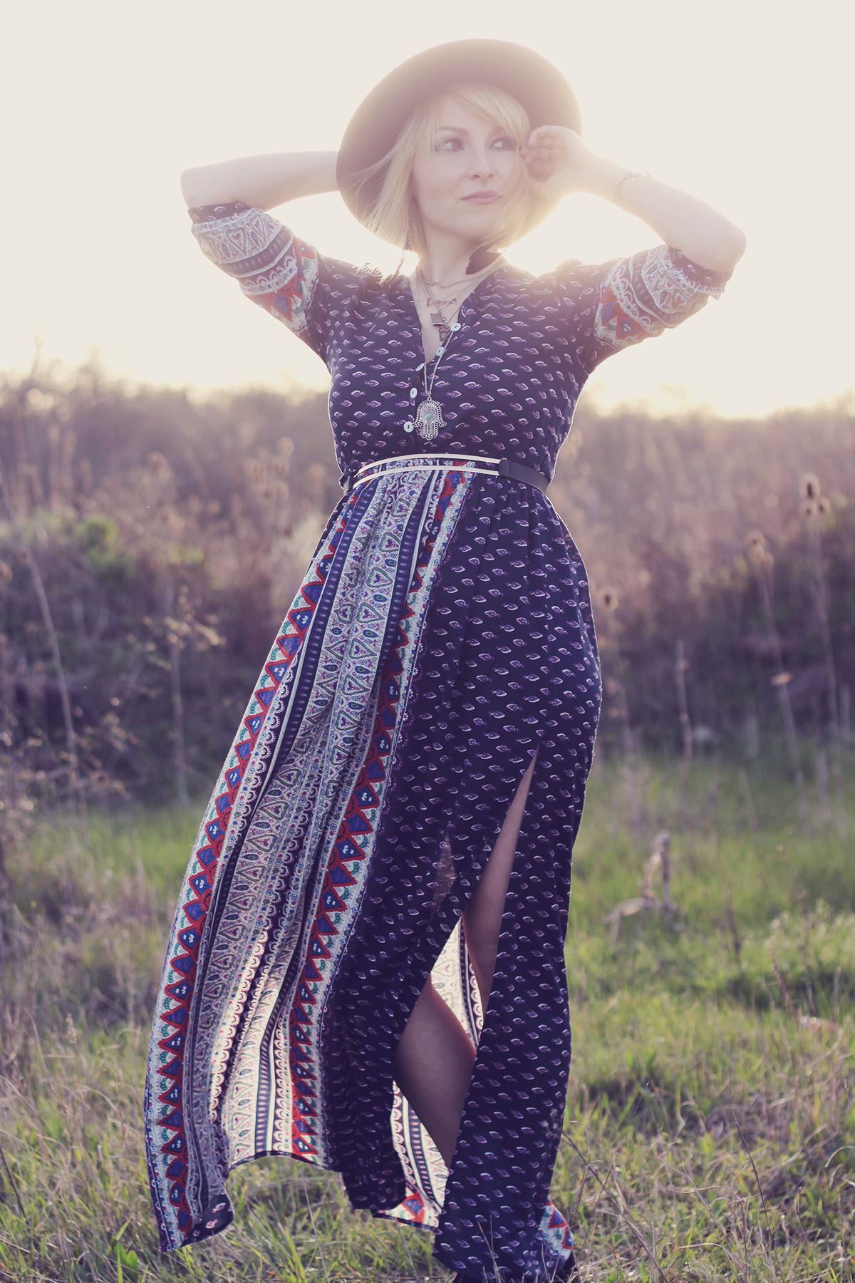festival long maxi dress