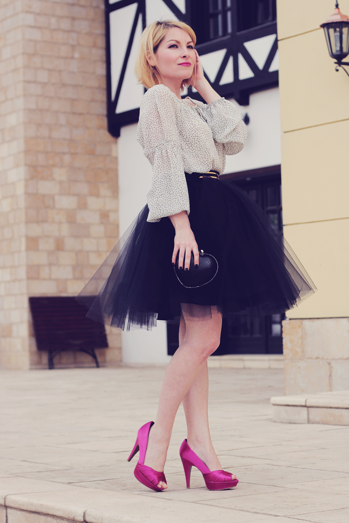 once upon a time a ballerina � the tulle skirt � the