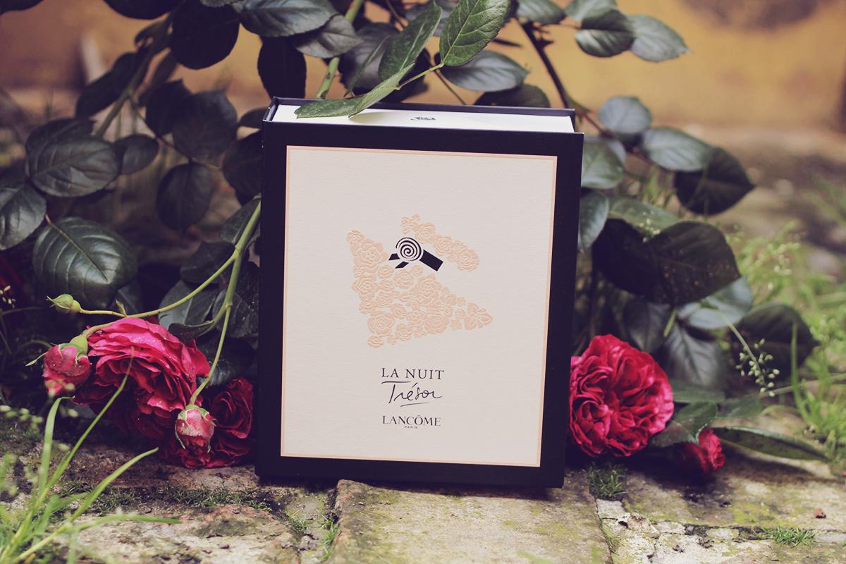 lancome le nuit tresor perfume gift box