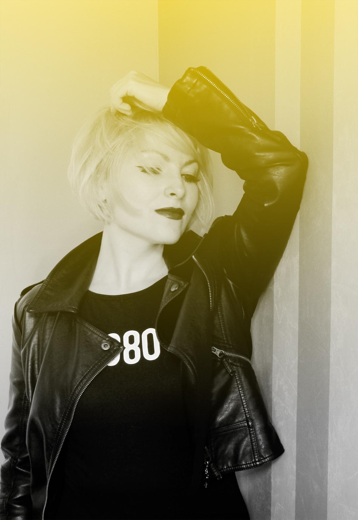 1980 zara bodysuit and jacket