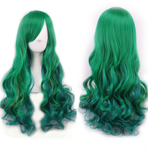 dresslily-mermaid-green-wig