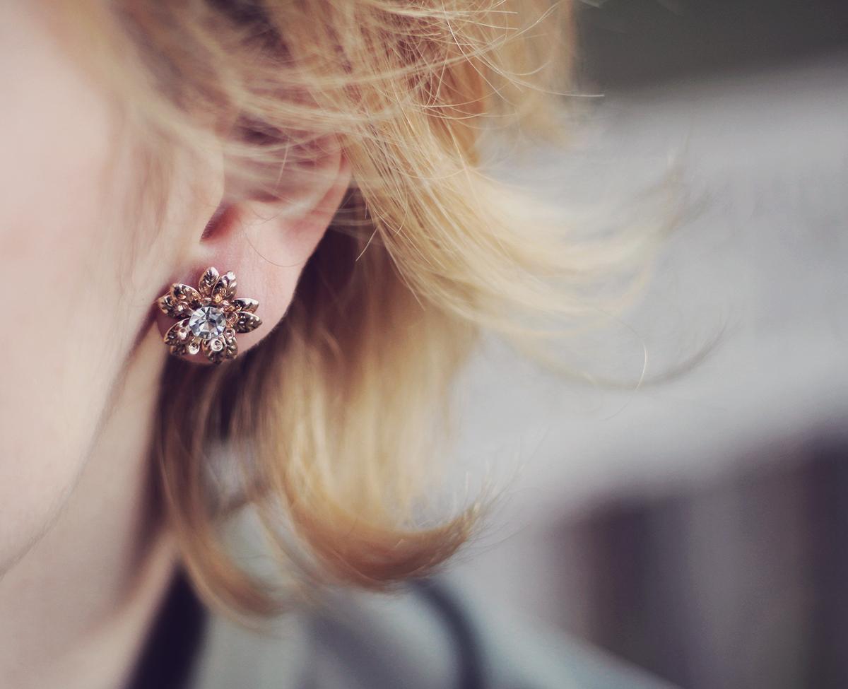 london-stud-flower-earrings