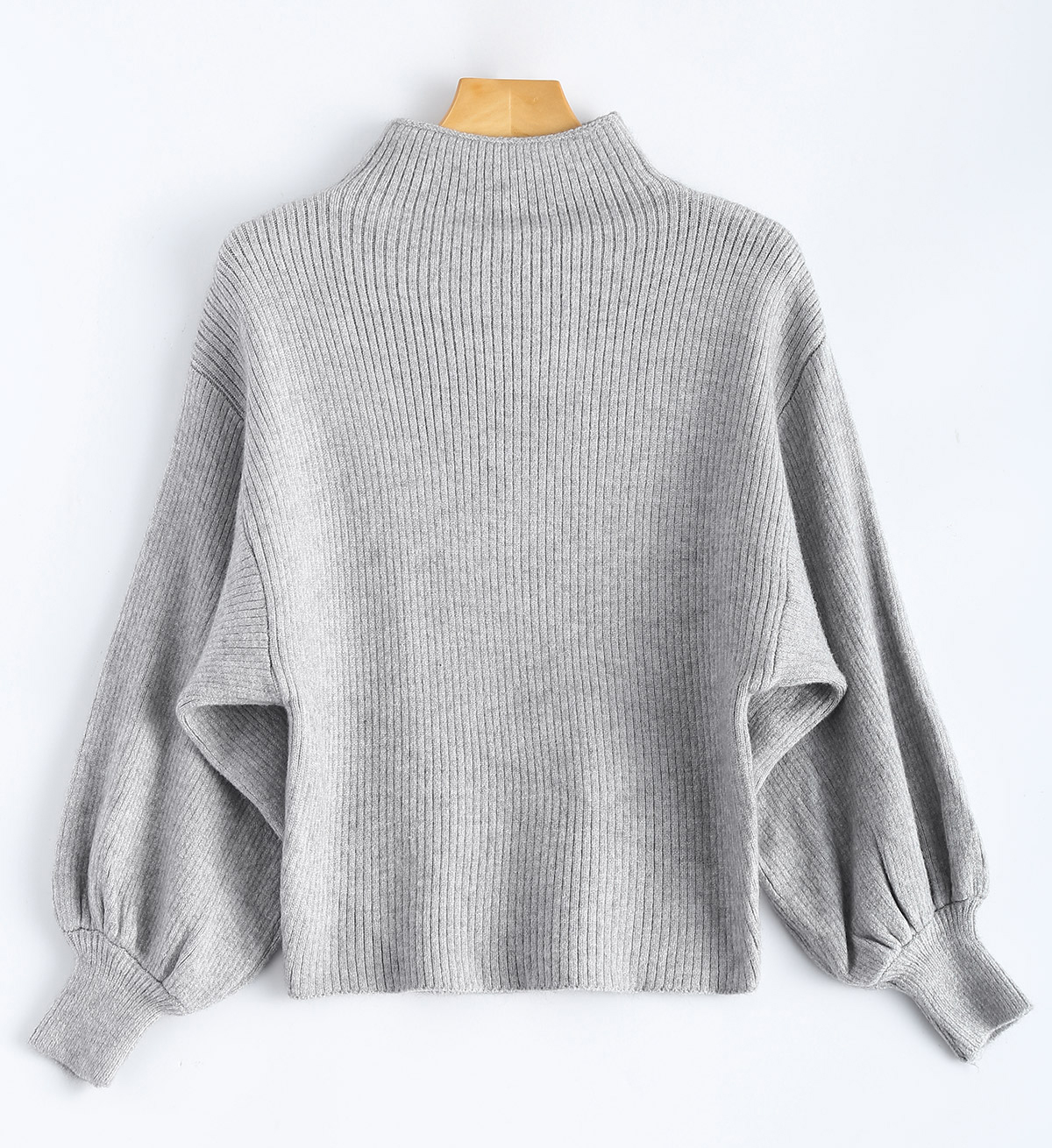 zaful-puff-sleave-sweater