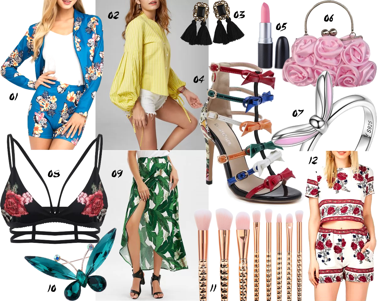 rosegal summer wishlist