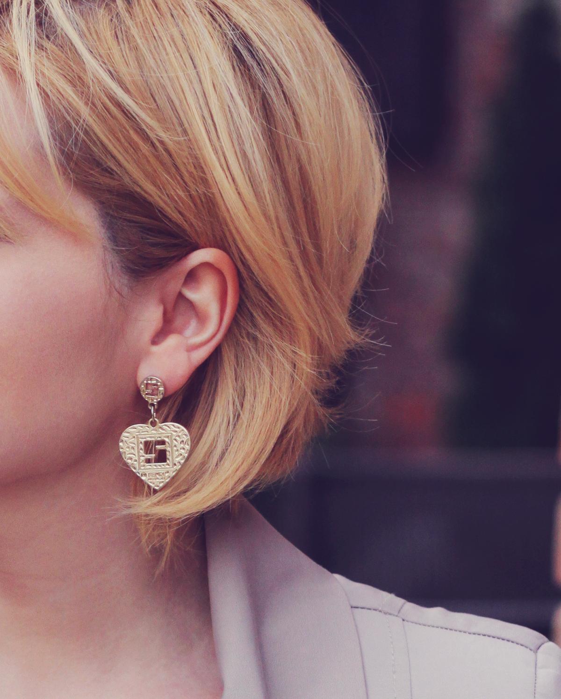 vintage fendi earrings