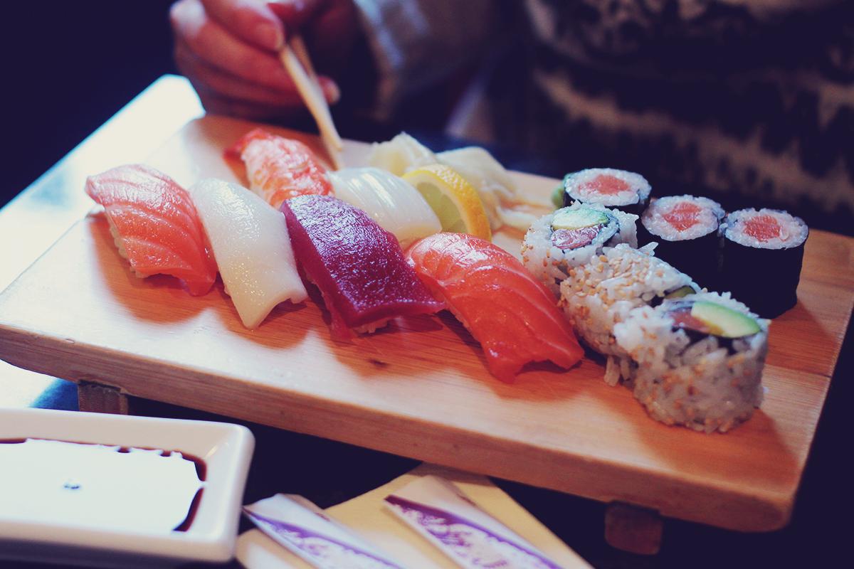 sushi, Vienna, travel