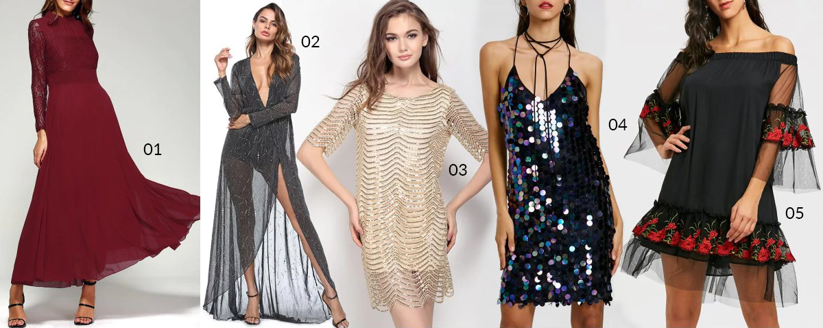 NYE dress wishlist 2017