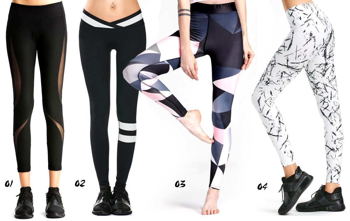 sporty leggings wishlist